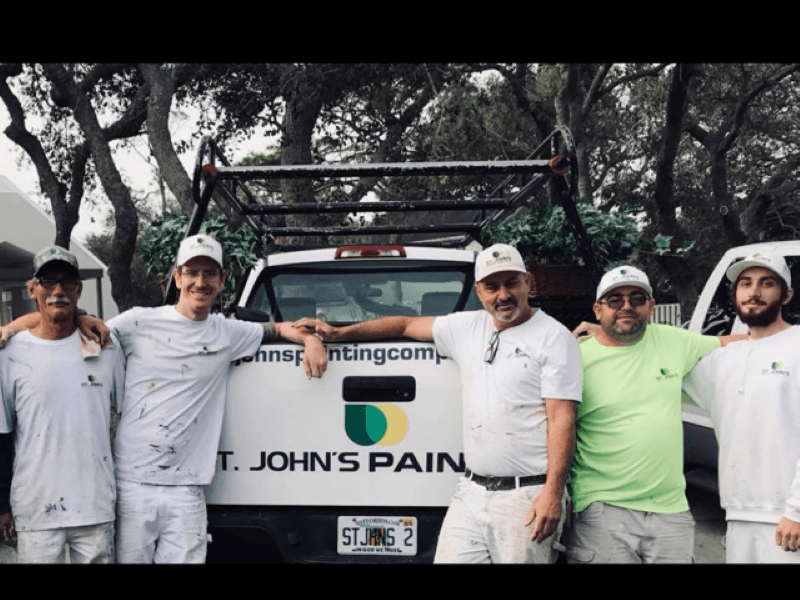 St. Johns Painting Team